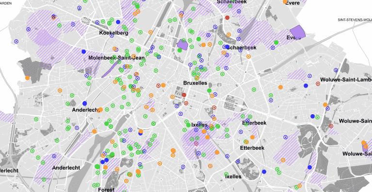Cartographie des projets